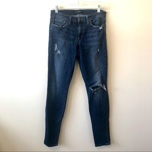 Joe's Jeans Skinny Lucille Distressed Jeans